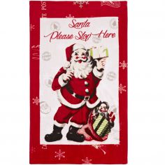 Retro Santa Cotton Towel