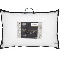Catherine Lansfield Signature Duck Feather Pillow Pair