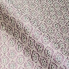 Purple Morrison Made to Measure Roman Blind