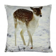 Deer Cotton Cushion Cover