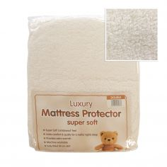 Luxury & Supersoft Teddy Mattress Protector