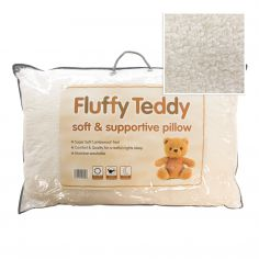 Fluffy Teddy Soft Pillow