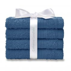 Catherine Lansfield 100% Cotton Towel - Royal Blue