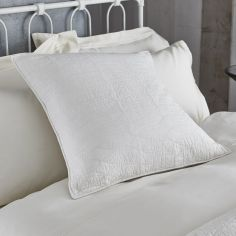 Bianca 100% Cotton Soft Simplicity Pillowsham - Cream