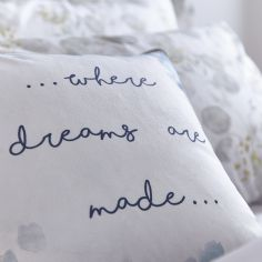 Bianca Cotton Soft Where Dreams Are Made Cushion Cover - Multi