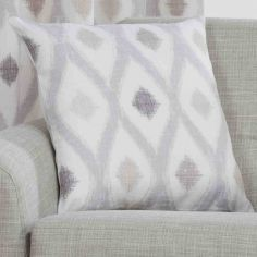 Bordeaux Geometric Cushion Cover - Duck Egg Blue