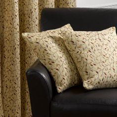 Harrogate Tapestry Cushion Cover - Beige & Multi