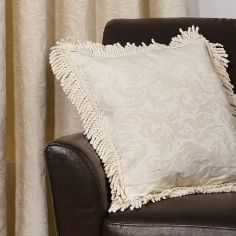 Shetland Woven Jacquard Cushion Cover - Natural
