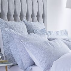 Bianca 100% Cotton Soft Delicate European Pillowsham - Duck Egg Blue
