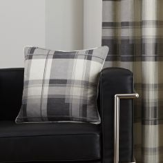 Balmoral Check Cushion Cover - Slate Grey