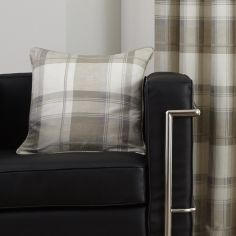 Balmoral Check Cushion Cover - Natural