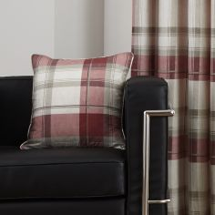 Balmoral Check Cushion Cover - Ruby Red