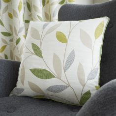 Beechwood Leaf Cushion Cover - Green