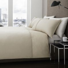 Harrison 100% Cotton Duvet Cover Set - Natural