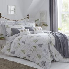 Linden Duvet Cover Set - Green