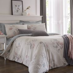 Olanda Floral Duvet Cover Set - Blush Pink