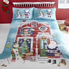 Waiting for Santa Duvet Cover Set
