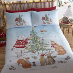 Night Before Christmas Duvet Cover Set