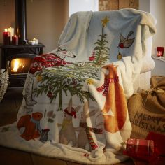 Night Before Christmas Supersoft Blanket Fleece Throw