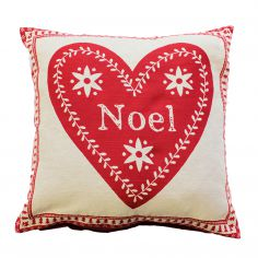 Noel Christmas Cushion Cover