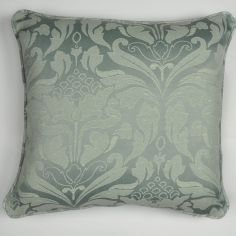 Cotton Rich Jacquard Cushion Cover - Silver Grey
