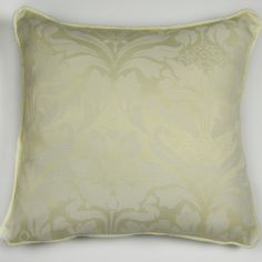 Cotton Rich Jacquard Cushion Cover - Cream