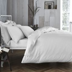 Bianca 100% Cotton Soft 200 TC Duvet Cover - White