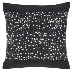 Catherine Lansfield Glitzy Sequin Cushion Cover - Black
