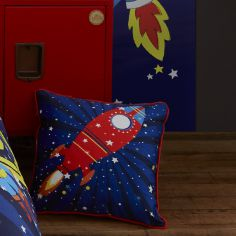 Colourful Outer Space Cushion Cover