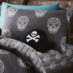 Skulls Shaped Filled Cushion