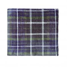 Catherine Lansfield Tartan Check Throw - Navy