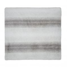 Catherine Lansfield Grey Wind Supersoft Fleece Throw