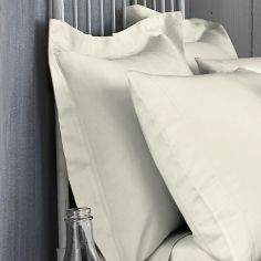 Bianca 100% Cotton Soft 200 TC Oxford Pillowcase - Cream