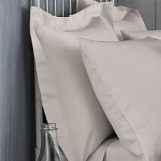 Bianca 100% Cotton Soft 200 TC Oxford Pillowcase - Natural