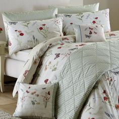Country Journal Butterfly Bedspread - Multi