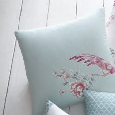Jade Floral Cushion Cover - Pink
