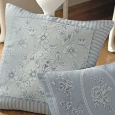 Malton Floral Cushion Cover - Blue
