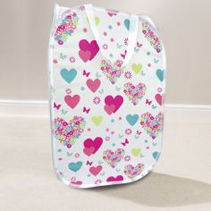 Hearts & Flowers Pop Up Laundry Box - Multi