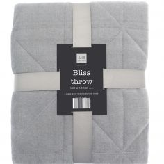 Bliss Throw Blanket - Grey