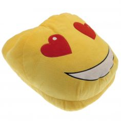 Pair of TV Slipper Love Emoji Slippers
