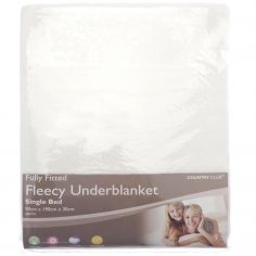 Fleecy Bed Under Blanket