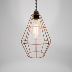 Shoreditch Metal Light Shade Fitting - Copper