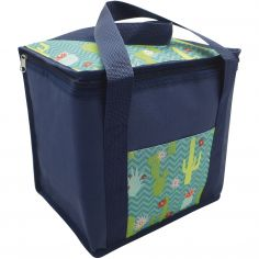 Cactus Cooler Picnic Sandwich Bag - Blue Green
