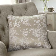 Ilsa Floral Cushion Cover - Natural