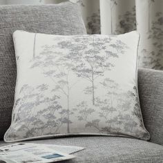 Elmwood Trees Cushion Cover - Stone