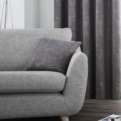 Solent Metallic Cushion Cover - Graphite