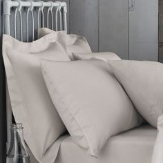 Bianca 100% Cotton Soft 200 TC Housewife Pillowcases - Natural