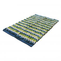 Bright Chenille Plush Super Soft Bath Mat - Lime