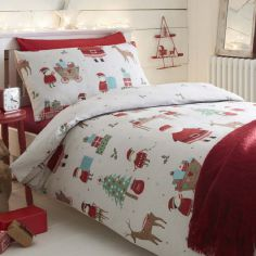 Elf Christmas Duvet Cover Set