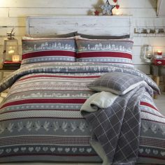 Nordic Christmas 100% Cotton Duvet Cover Set